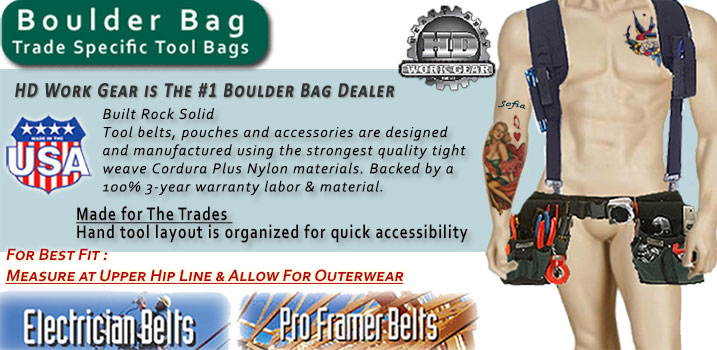 Boulder Bag Tool Belts