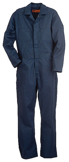 Berne Apparel Stain Resistant Navy Coveralls C250