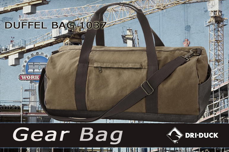 Dri Duck Duffel Bag Khaki 1037