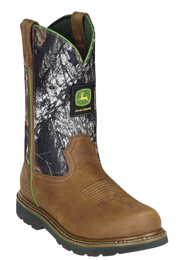 John Deere Pull On Mossy Oak Boots JD4348